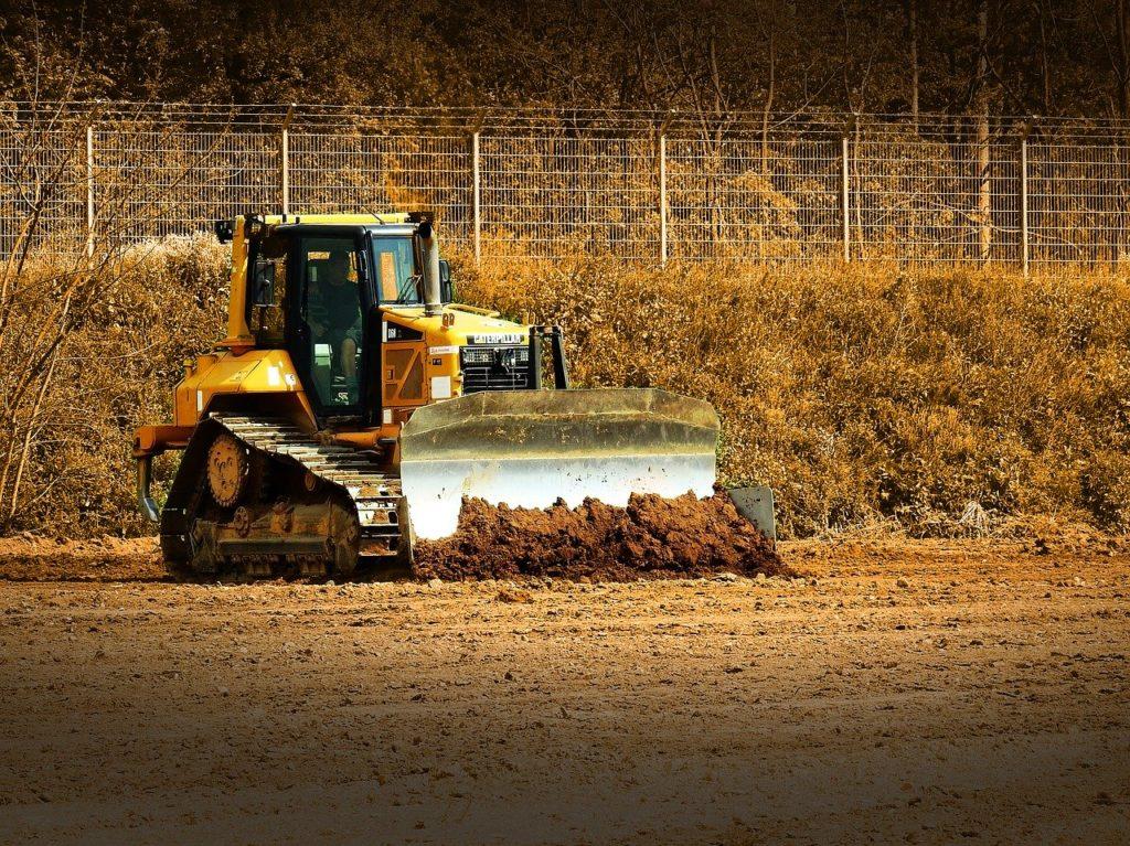 第一種 トラクター系建設機械ブルドーザー