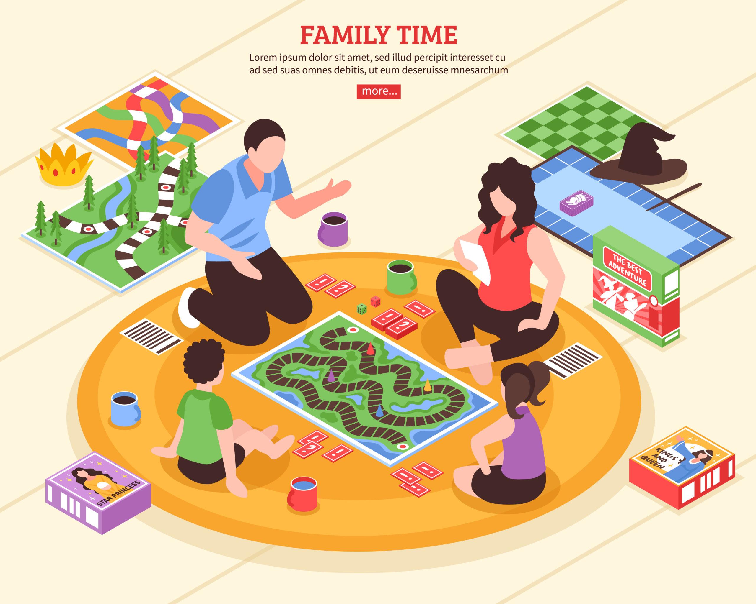 家族みんなで楽しめるゲーム