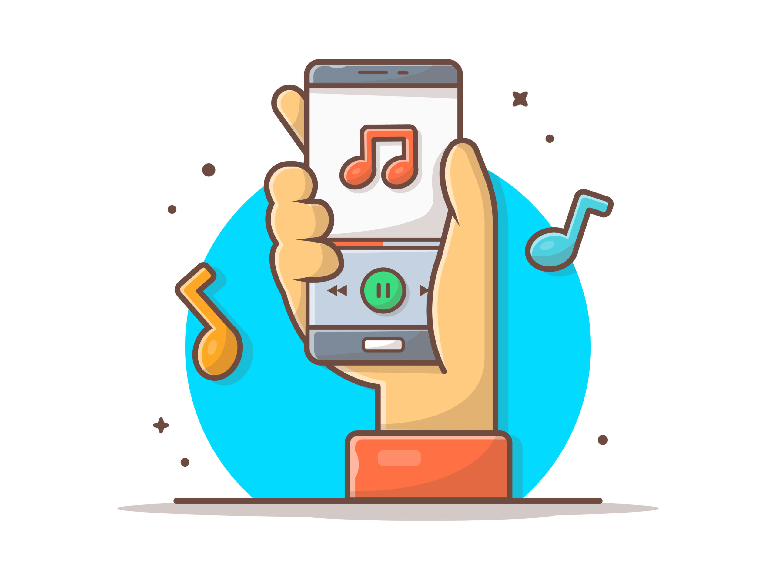音楽配信サービス3つ