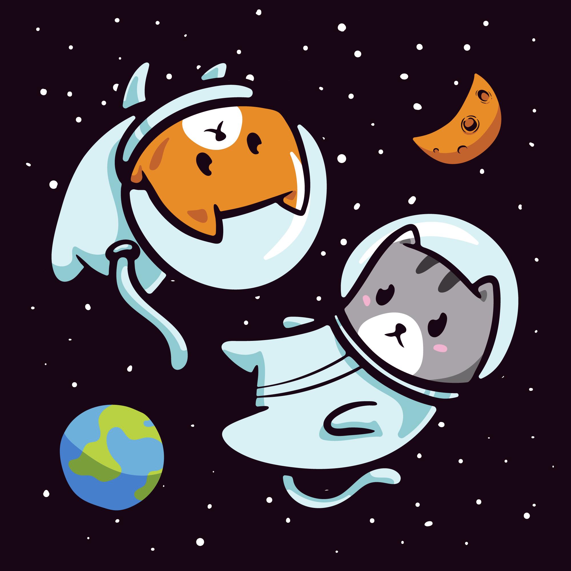 宇宙猫とは?【宇宙と猫が謎のコラボ?気になる宇宙猫の正体】